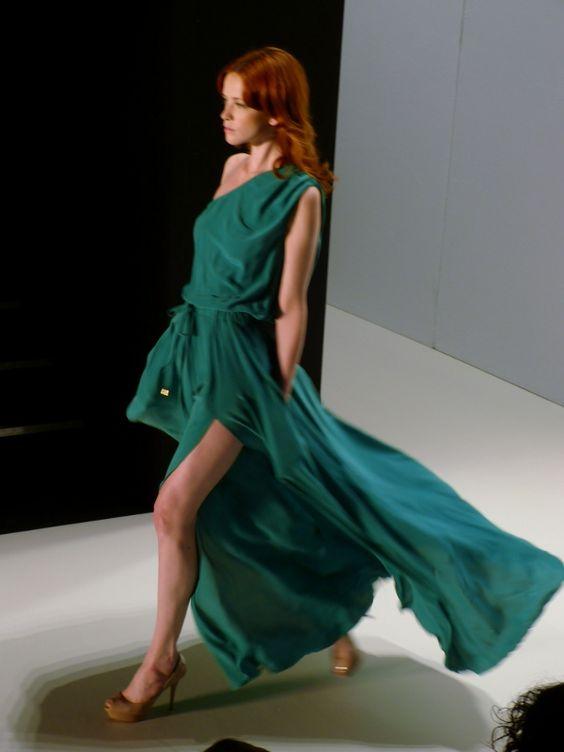 Model at Holy Ghost Spring/Summer 2013 - Mercedes Benz Fashion Week - http://olschis-world.de/  #HolyGhost #Womenswear #fashion