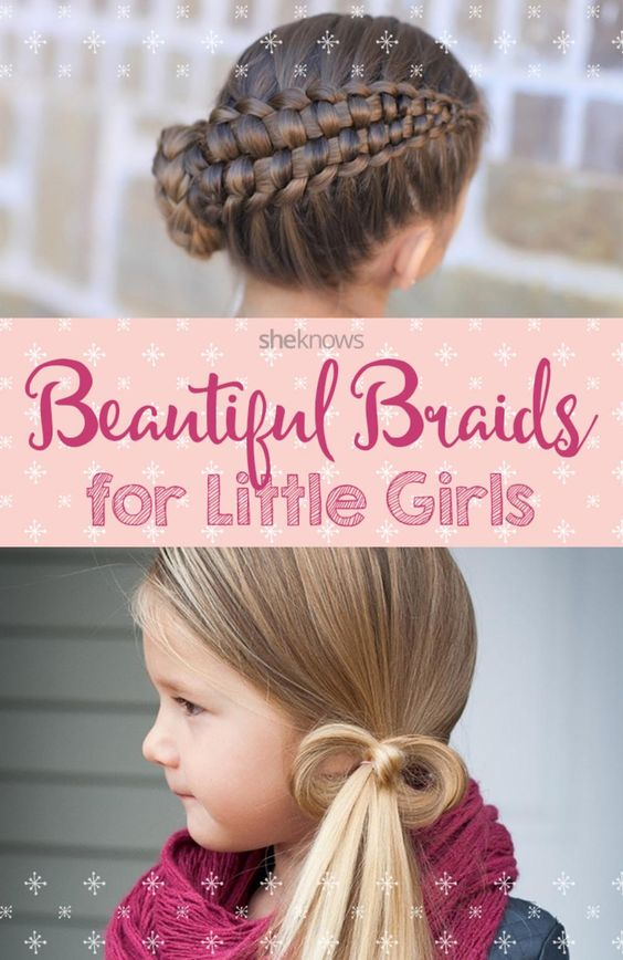 Astonishing Different Hairstyles Braids And Little Girls On Pinterest Hairstyle Inspiration Daily Dogsangcom