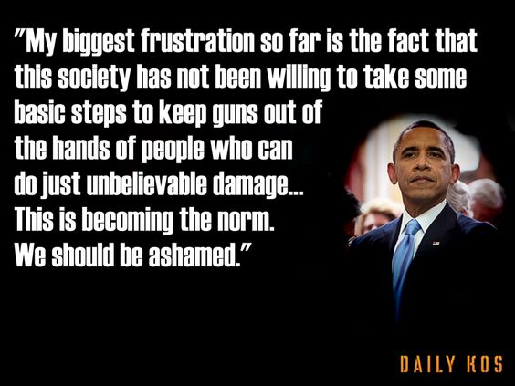 Quotes On Gun Control Mesmerizing Obama On Gun Control  Quotes  Pinterest  Obama