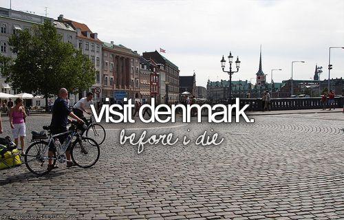 Visit Denmark - bucket list