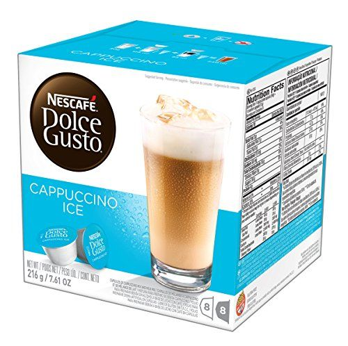 Nescafe Dolce Gusto Iced Cappuccino Makes 24 Cups 8 Espresso And 8 Milk 3 Boxes Of 16 Capsules This Is An Amazon Associate S Receitas Truques De Organizacao