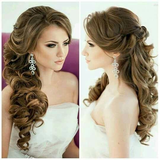 Para La Boda Weddingbouquets Long Hair Wedding Styles Wedding Hair Inspiration Wedding Hairstyles For Long Hair
