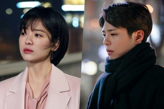 "Song Hye Kyo And Park Bo Gum Struggle With Heartache On ""Encounter"""