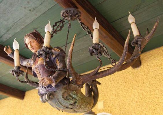 Lüsterweibchen (Leuchterweibchen) | Die Kunst und Antiquitätenbörse
