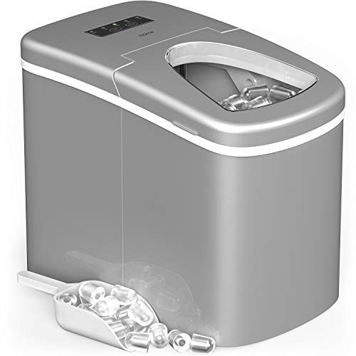 Homelabs Portable Ice Maker Machine For Countertop Makes 26 Lbs