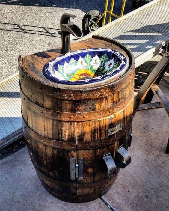 Un barril de vino reciclado puede hacer la diferencia, ¡mira estas 23 ideas para lograrlo! - IMujer