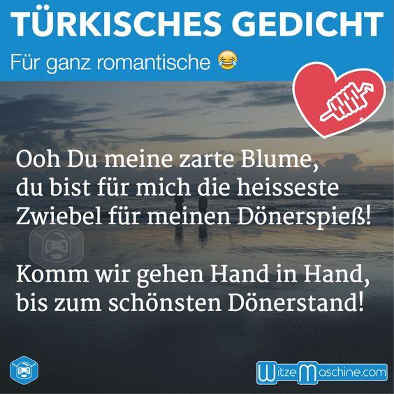 Lustiges türkisches Liebesgedicht - Türkenwitze - Döner Ballade