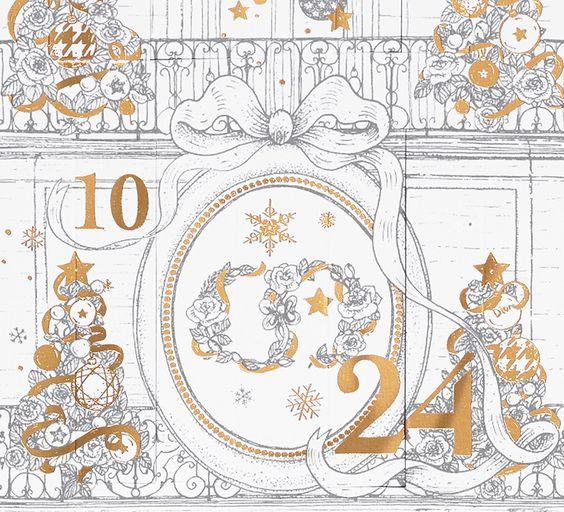 Calendrier de l'Avent 2017 Dior