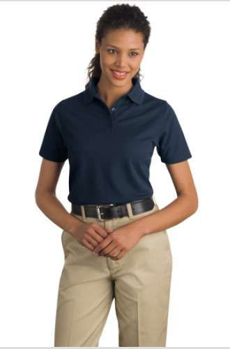 CornerStone Ladies Industrial Pocketless Pique Polo | www.apparelmanufacturers.com