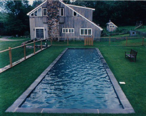 Custom Backyards With Lap Pool Brilliant Love The Simplicity Of This  Earth Is 70% H2Ocan You Swim