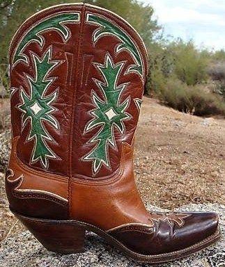 vintage circa 1950 Stewart-Romero inlays | Cowboy Boots ...