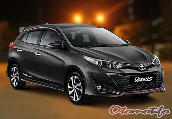Harga Toyota Yaris 2020 Tipe Manual Matic Trd Sportivo Mobil Toyota Interior