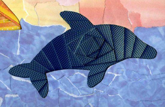 íris dobrado golfinho