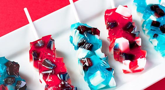 Rock candy, Jello and Jello shooters on Pinterest