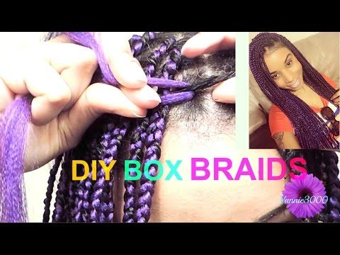 1 Simple Way You Can Limit Breakage While Wearing Box Braid Extensions
