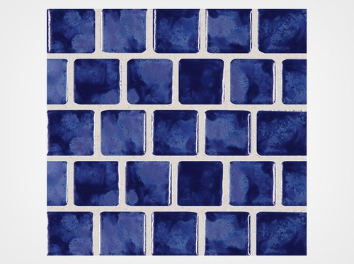Seaside Series Galaxy Blue 1x1 Porcelain Mosaic 12x12 Porcelain Mosaic Ceramic Tiles Ceramics