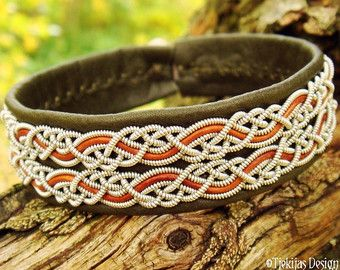 Norse Viking Bracelet BEOWULF Swedish Sami by TjekijasDesign