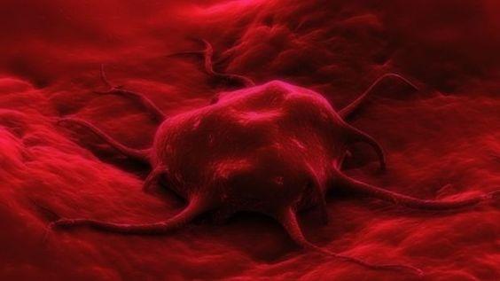 Lesão indolente de origem epitelial.
