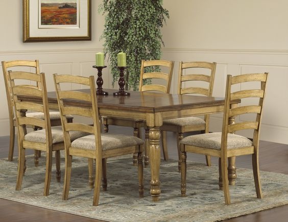 2 Tone Dining Room Sets Of Pinterest The World S Catalog Of Ideas