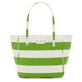 green & white