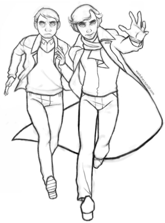 sherlock coloring pages - photo#33