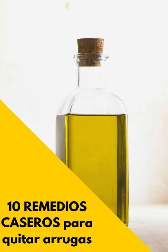 remedios caseros para quitar arrugas
