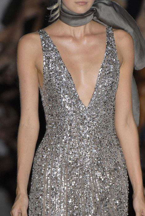 Grey: Sparkle Dresses, Fall 2006, Cocktail Dresses, Elie Saab Details, Elie Saab Fall, 2006 Couture