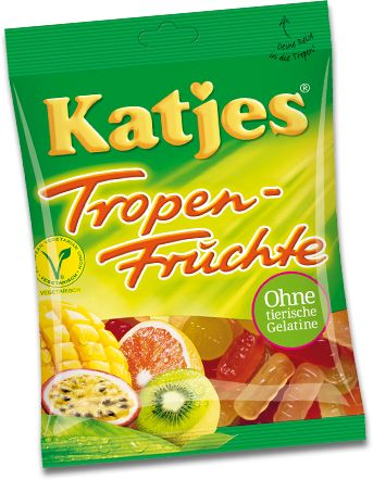For the Tropen-Früchte, Katjes went on a long journey – at least in terms of…