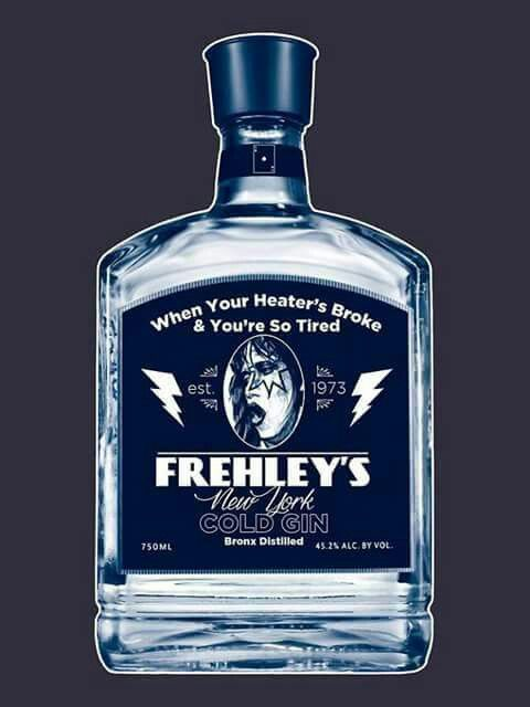 Frehley S New York Cold Gin Kiss Band Kiss Images