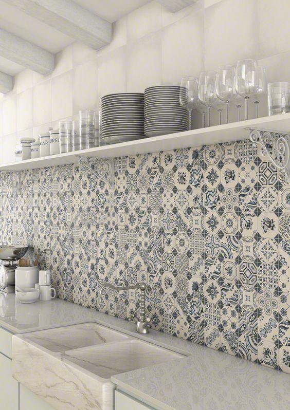 Pattern Tiles Moroccan Turkish Mediterranean Portuguese Spanish
