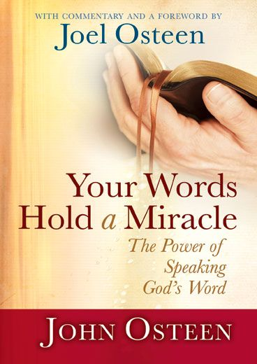 Your Words Hold a Miracle, John Osteen - 5/8/12