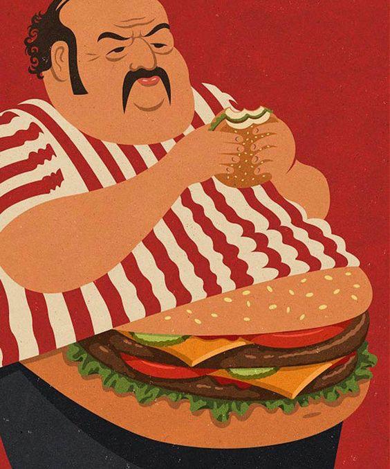 La dernière série d'illustrations de John Holcroft reflète de façon satirique la société dans laquelle nous vivons.