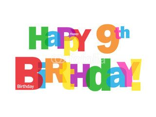 9th Birthday Wishes - http://www.topbirthdaywishes.org/9th-birthday-wishes/: