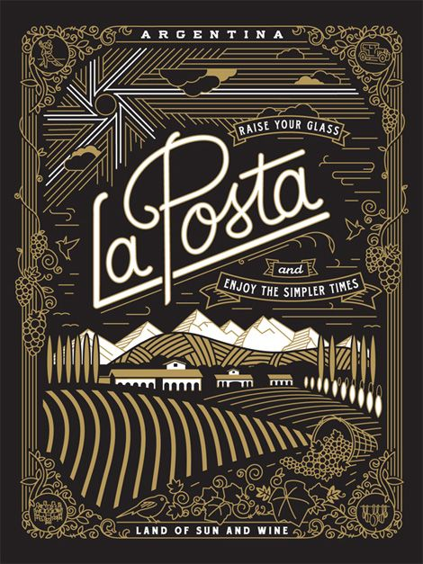 Jose Canales' portfolio showcases his ability to skillfully navigate between type, packaging, illustration and design all with ease.