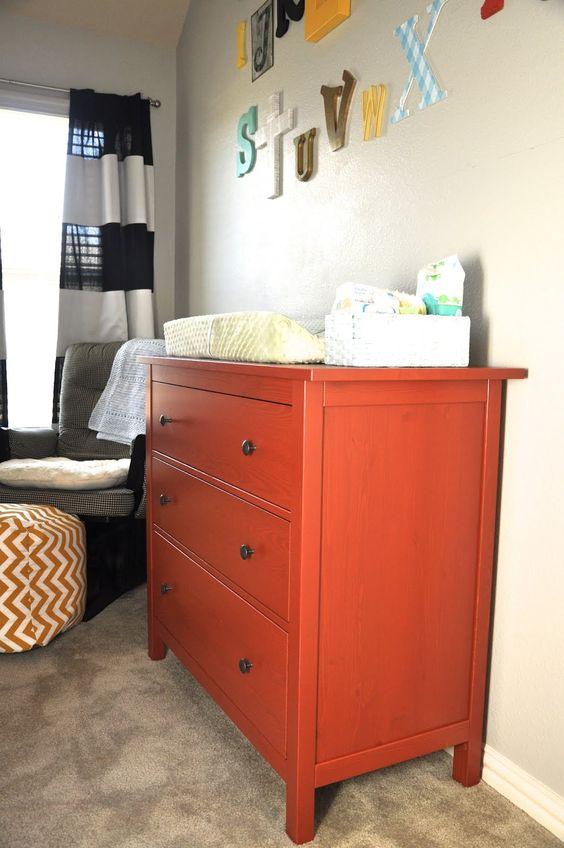 Nursery Red Dresser From Ikea Abc Wall Boys Room Pinterest. Red Dresser Ikea   Trend Dressers Designs