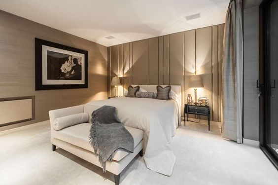 Stunning bedroom in #Knightsbridge #London #Bedrooms