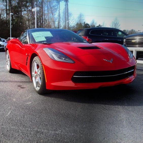 Check out the #CorvetteStingray that rolled onto our lot.