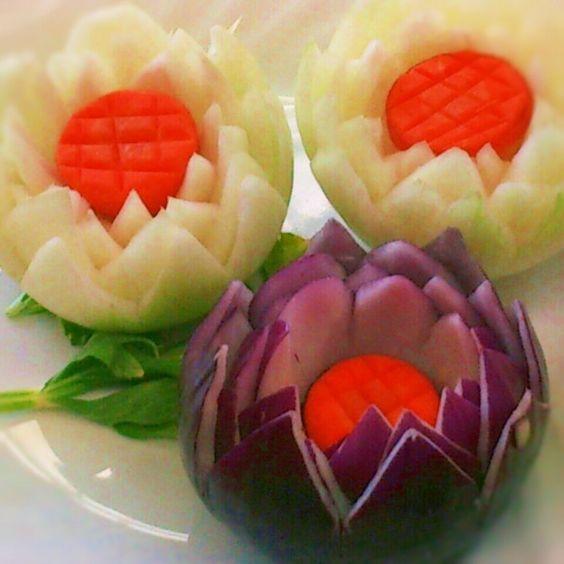 玉ねぎの飾り切り