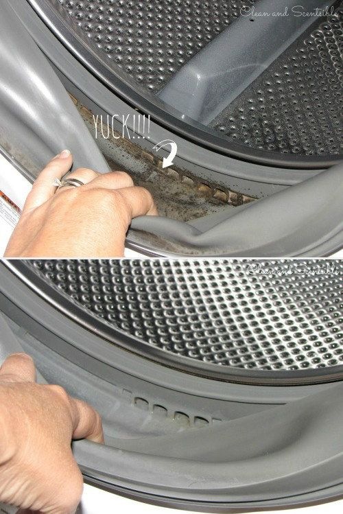 Get the mold out of your front-loading washer.   42 Seriously Useful Tips Every Clean Freak Needs To Know