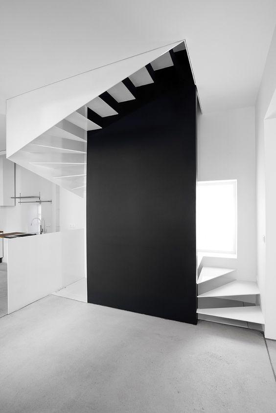 architecture #design #interiors #stairs #minimalism #windows - The ...