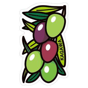 gotochi postcard olives