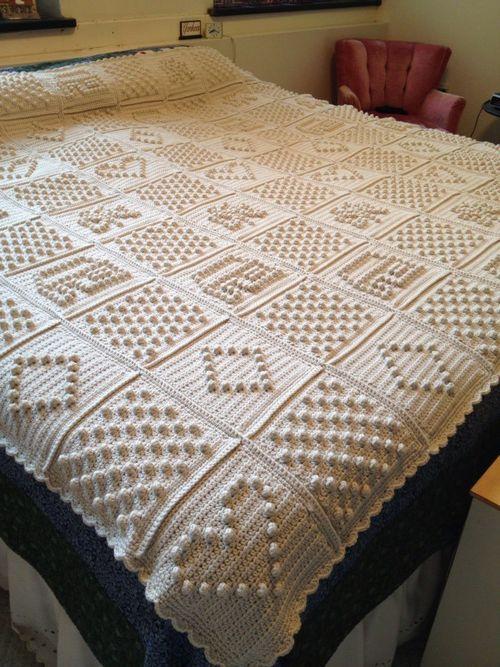 white inspiration blanket