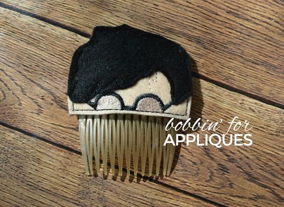 The Boy Who Scarred Inspired Hair Comb Topper