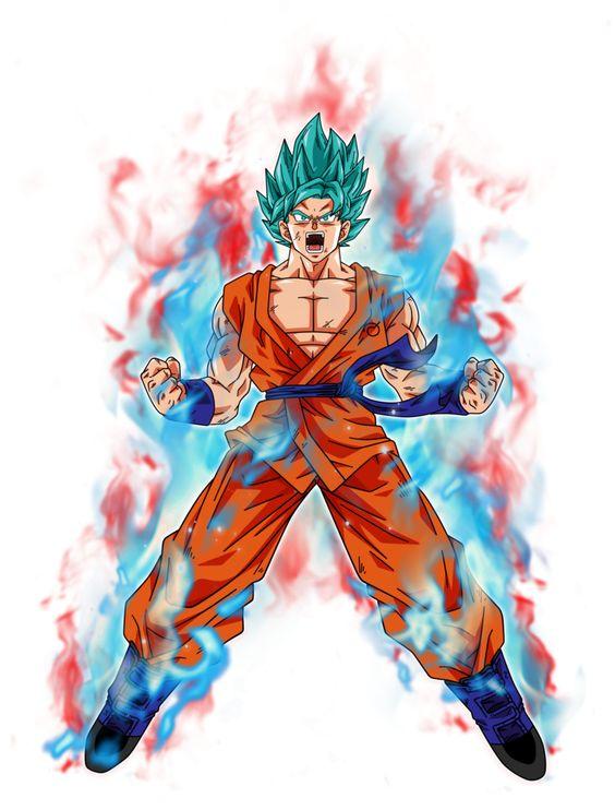 Goku Super Saiyan Blue Kaioken By BardockSonic Dbz