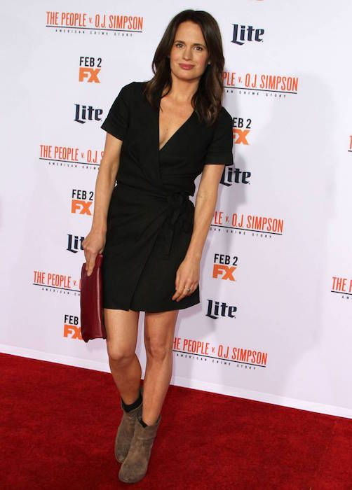 "Elizabeth Reaser at ""The People v O.J. Simpson: American Crime Story"" premiere in January 2016..."