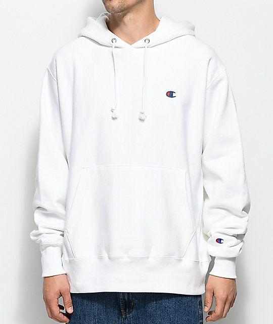 verenigd koninkrijk goede service populaire winkels Champion Reverse Weave White Pullover Hoodie | closet in ...