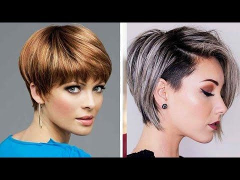 10 Fabulous Pixie And Short Bob Haircut 2020 Professional Hairstyles Trending Haircut 2020 Youtube Bobs Haircuts Trending Haircuts Short Bob Haircuts