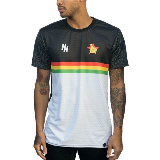 Heroes And Hooligans Zimbabwe 2017 Jersey Worldsoccershop Com Worldsoccershop Com Cycling Jersey Mens Tops Soccer Jersey