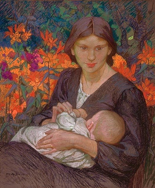 Eastlake, Mary Bell, 1864-1951, Happiness, circa 1892