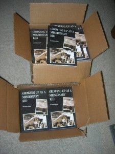 My Books Have Arrived! - http://susanevans.org/blog/growing-up-as-a-missionary-kid-4/